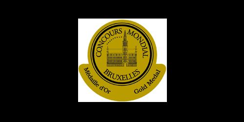 Concourse Mondial Bruxelles Gold Medal