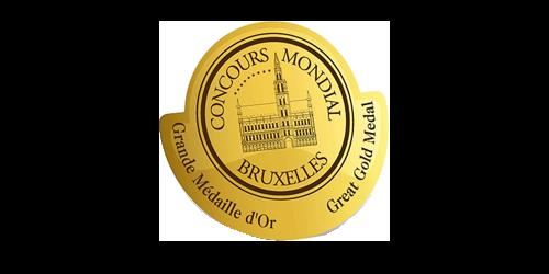 Concourse Mondial de Bruxelles Great Gold Medal