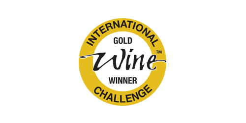 International Wine Challenge Gold Winner 500x250