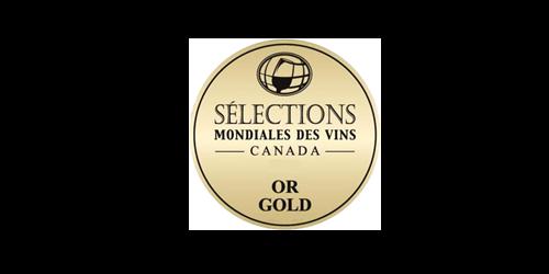 Selections mondiales des vins OR GOLD 500x250